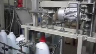 Упаковочное оборудование. Линия розлива для фасовки жидких продуктов в бутылки(Линия розлива для фасовки жидких продуктов в бутылки Automatic Bottle Filling Machine ООО НПП ИНТА - Производство и продаж..., 2015-02-16T16:42:43.000Z)