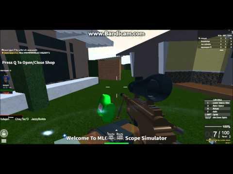 Roblox quickscope simulator mlg gameplay youtube