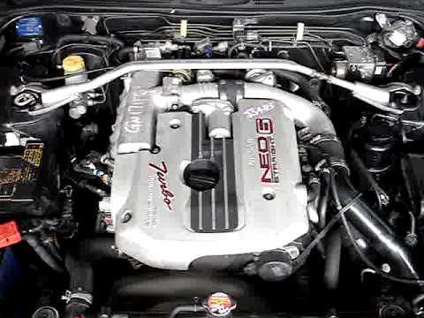 RB25DET NEO -- Skyline R34 159,344 kms -- Stock # JS483 -- Engine  Running MPG