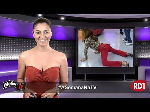 #ASemanaNaTV: Ticiane Pinheiro e seu