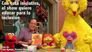 Sesame Street suma un personaje con autismo