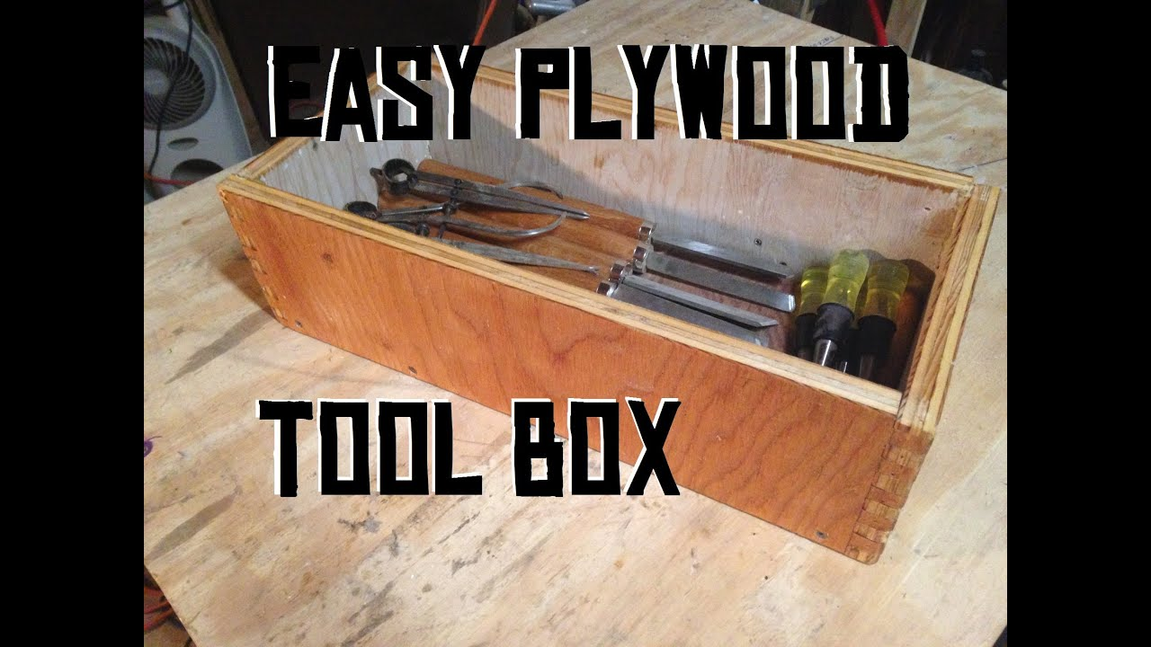 Building A Simple Plywood Box Youtube