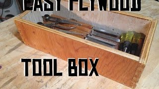Building A Simple Plywood box