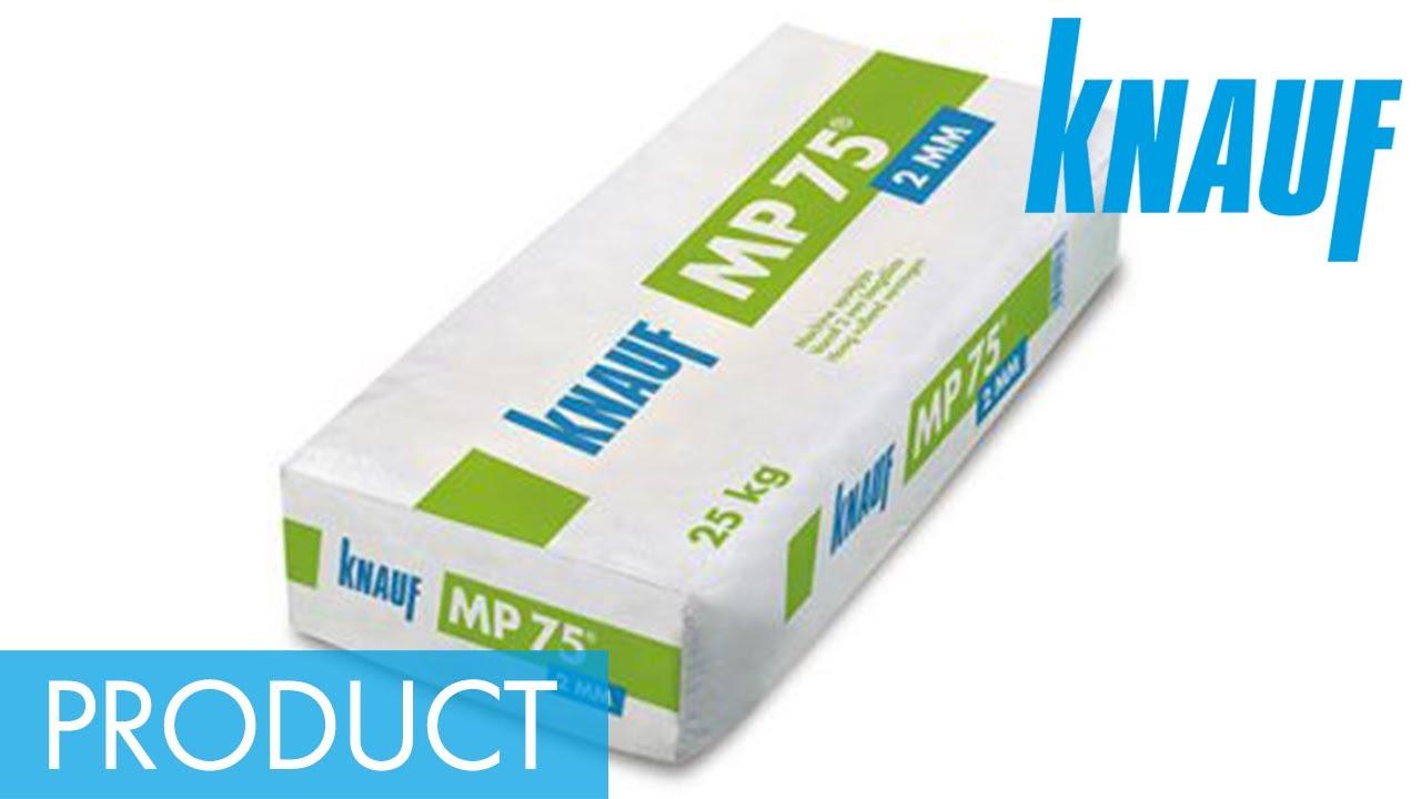 Magnifiek Knauf MP 75 2mm - YouTube XI67