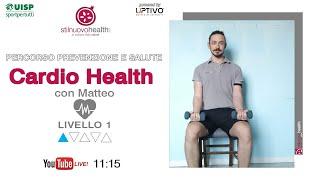 Percorso prevenzione e salute - Cardio Health - Livello 1 - 5  (Live)