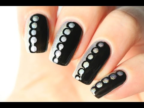Le nail art le plus facile du monde : deux vernis, un dotting tool