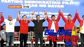 Pres. Duterte, ipinakilala ang mga senatorial candidates na kanyang ineendorso