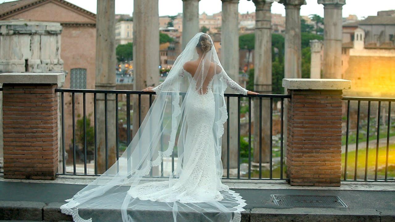Luca e Anna Victoria Wedding in Rome I Ara Coeli I Villa Miani I ...