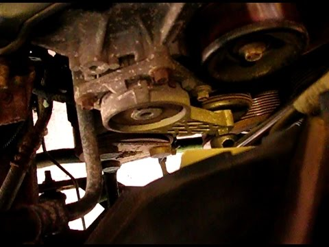 How to replace the serpentine belt in a Ford 5.4L F150