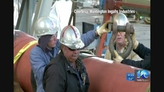 Newport News Shipbuilding to lay off 738 shipbuilders