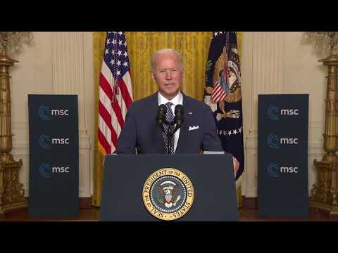 President Biden Delivers Remarks at the Virtual Munich Security Conference