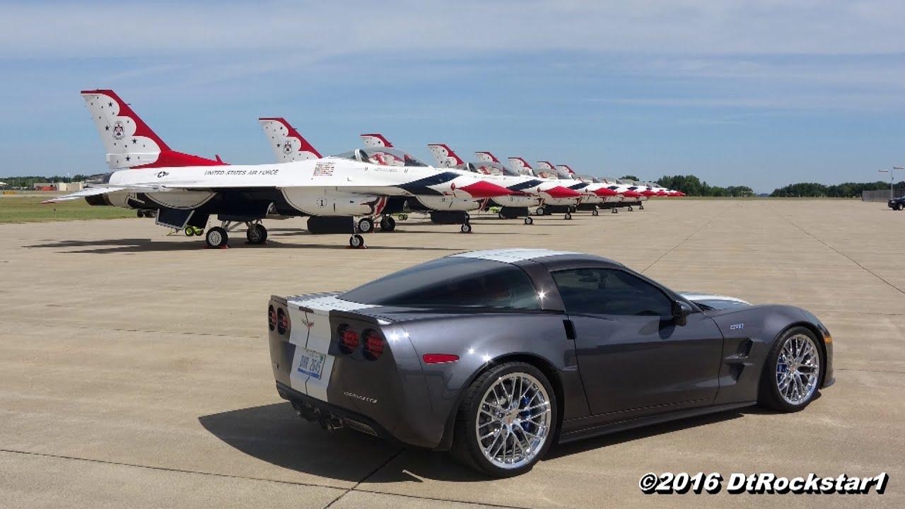Buick Grand National 2016 >> Corvette ZR1 vs Buick Grand National - YouTube
