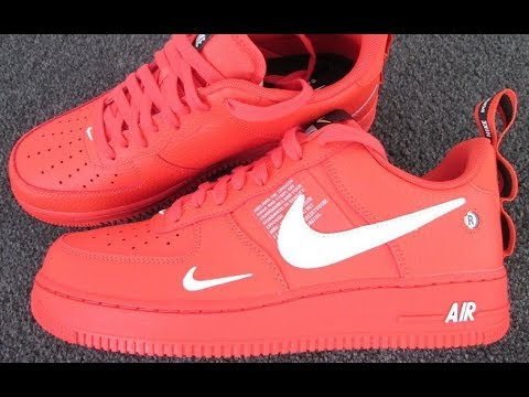 another chance a0328 3b583 Nike Air Force 1 Team Orange Review & Rating, Special Edition. Nike  Trainers, Shoes, Sneakers, 2018.