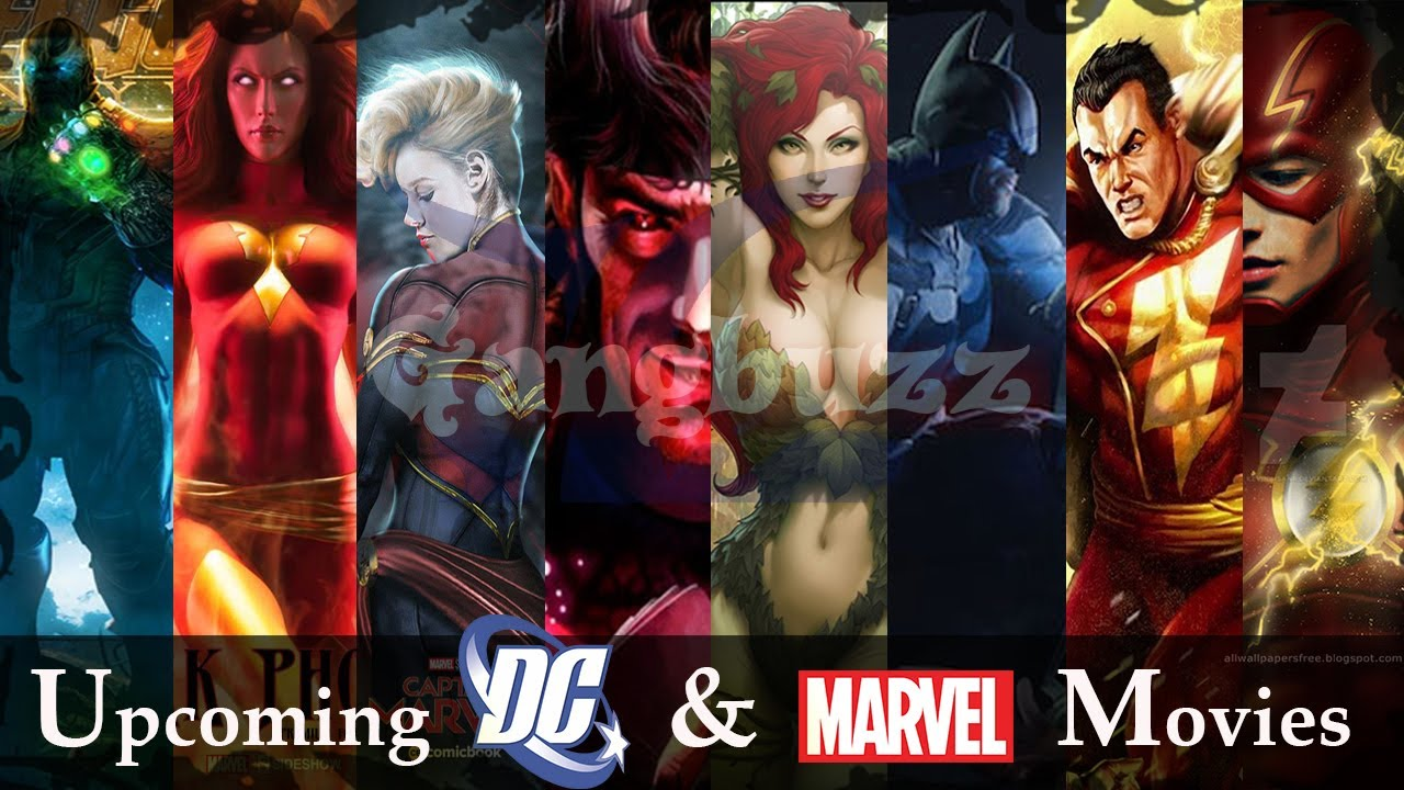 Upcoming Marvel and DC Movies – 34 Upcoming Marvel and DC Movies [2017 – 2021] | Almost All |