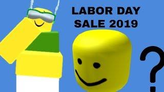 Roblox Labor Day Sale 2019 WE GOT BIG HEAD!!!