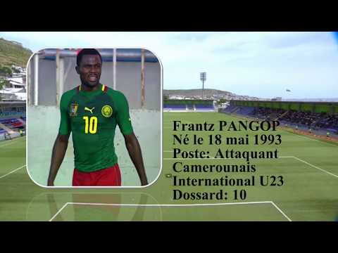 Frantz PANGOP - Senior and U23 Cameroonian International - Union de Douala.