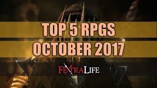 Top 5 RPGS of 2017: October
