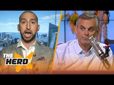 Nick Wright joins Colin Cowherd to talk LeBron's new HBO show, Odell's contract and more | THE HERD