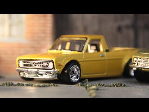 Hot Wheels '75 Datsun Sunny Truck (B120) - Car Culture: Japan Historics 3 (2020) 4/5