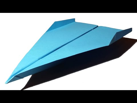 Paper Planes that FLY FAR - How to make a Paper Airplane that FLIES 100 FEET . Falcon