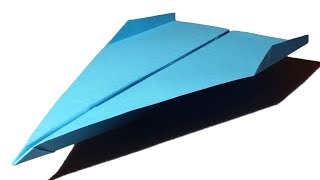 How to make a Paper Airplane Jet - easy paper planes that Fly Far