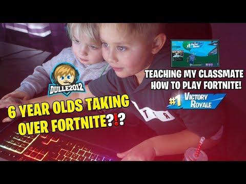 Dulle2012 - Lär min klasskompis hur man blir proffs på Fortnite!
