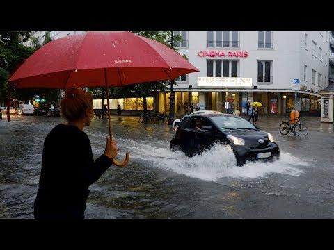 Berlin unter Wasser - Die spektakulärsten Videos!