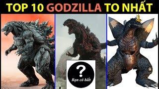 Top 10 Biggest Godzilla in history