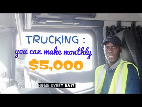 HGV Truckers Can Earn £1,000 A Week, Salary To Work In London, UK.
