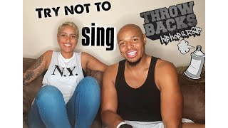 Challenge Accepted: Try Not To Sing 90s hip hop and R&B ft TONY BAKER