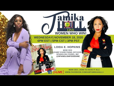Women Who Win live with Loida Hopkins