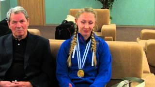 Анна Малова рассказала о чемпионате Европы