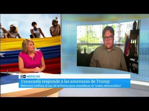Reacciones a las declaraciones de Trump sobre Venezuela