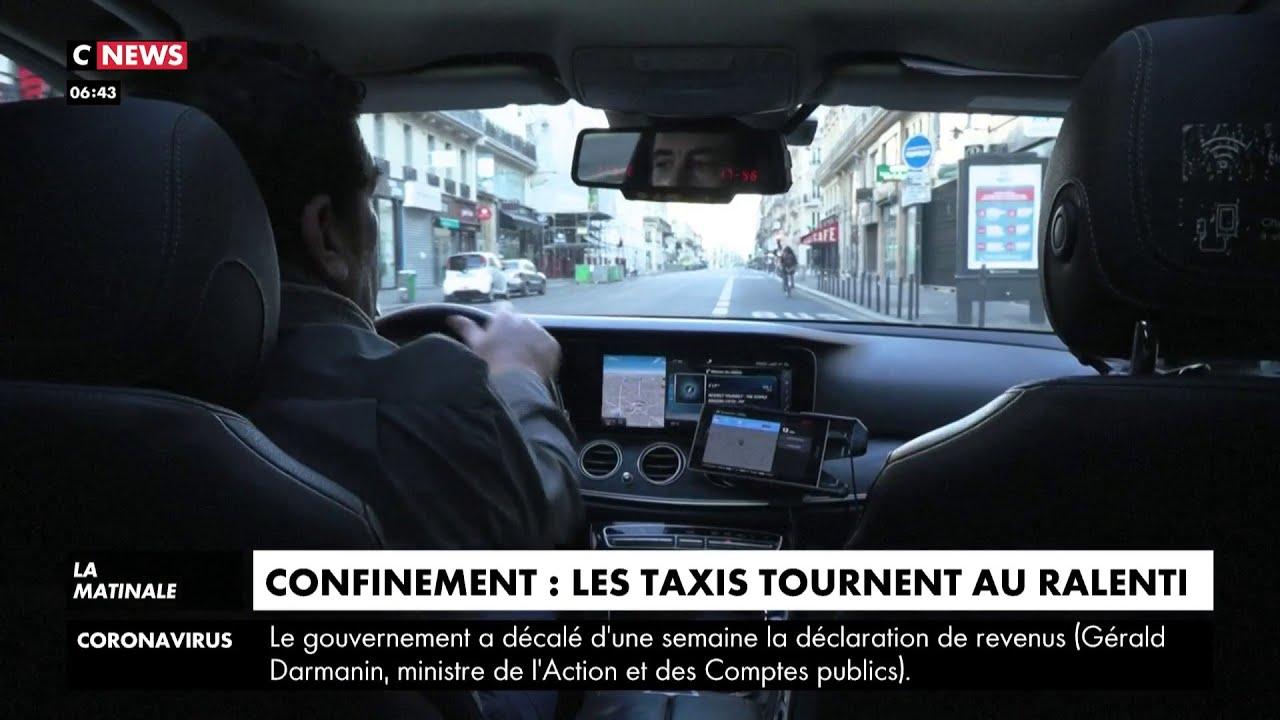 Confinement : les taxis tournent au ralenti