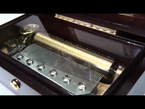 Reuge 72 notes music box - Turkish March song
