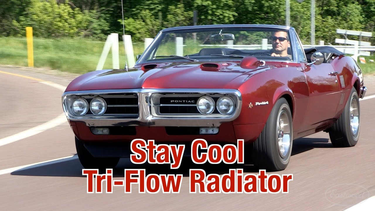 Maxx Power Chevy Style Tri Flow Aluminum Radiator 28 Inch 3 Pass Cooling