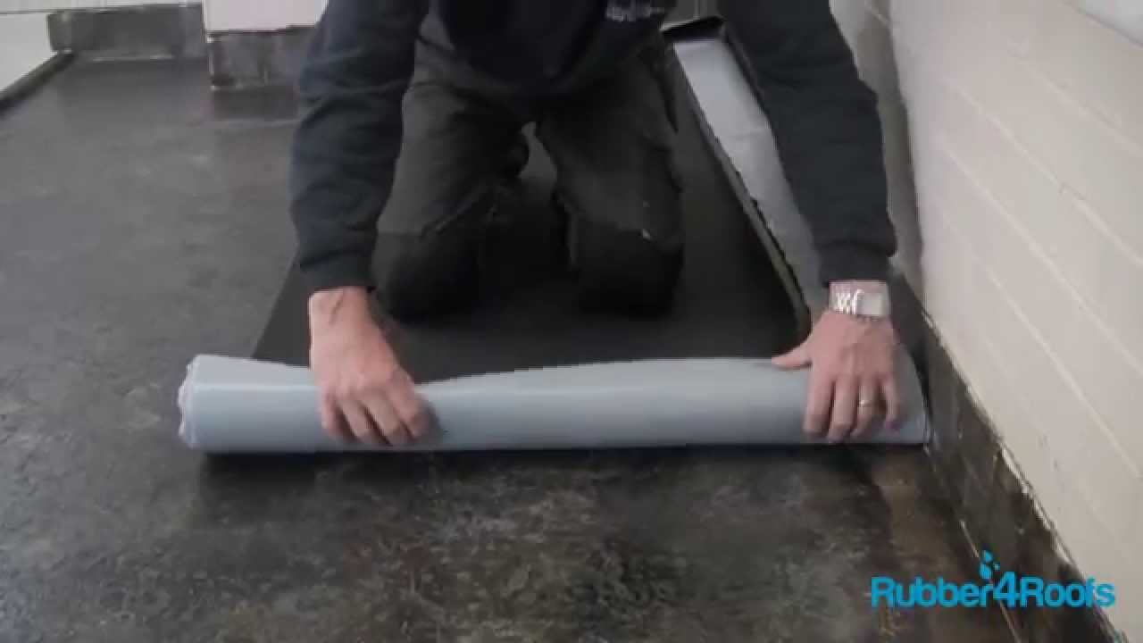 How To Install A Self Adhesive Resitrix Covering On A Flat