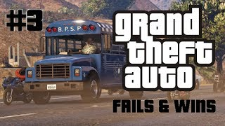 GTA 5 Fails & Wins #3 (Grand Theft Auto V Funny Moments)