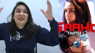 SAAHO: Shades of Saaho Chapter 2   Prabhas   Shraddha Kapoor   Reaction!