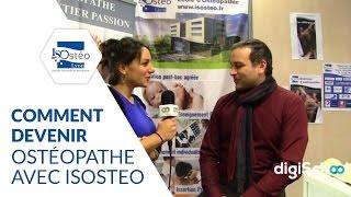Comment devenir ostéopathe avec ISOsteo
