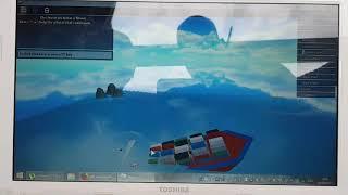 Roblox Sinking Ship Simulator| Cargo Ship Time Lapse