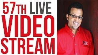 57th Live Stream with Carlton Pearson - Spiritual Slumber and Religious Hypnosis