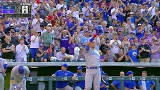 coors field gives tulo ovation in first ab