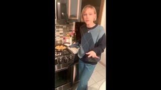 Grace VanderWaal - Cooking With Dad - Mar 24, 2020