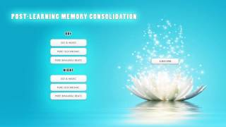 Repeat youtube video 'DOWNTIME' - Post-Learning Memory Consolidation - Memory Improvement Music - Brainwave Entrainment