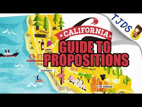Progressive Guide For California Propositions 2016