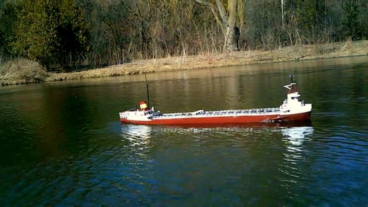 Large 5 Ft Rc Edmund Fitzgerald Great Lakes Freighter