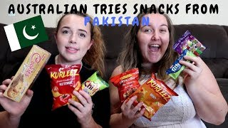 Australian Tries Pakistani Snacks | Universal Yums Box