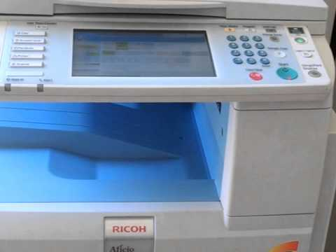 Multifuncional Ricoh 2550