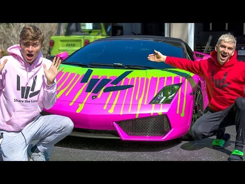 Epic Lamborghini Mod Surprised My Brother Youtube
